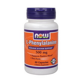 L-Phenylalanine 500 mg (60 caps)