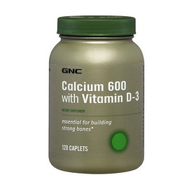 Calcium 600 with Vitamin D-3 (120 tabs)