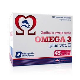 Omega 3 45% + Vitamin E (120 caps)