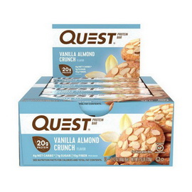 QuestBar Vanilla Almond Crunch (12 x 60 g)