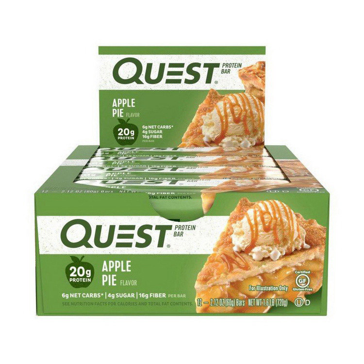 QuestBar Apple Pie (12 x 60 g)