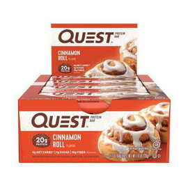 QuestBar Cinnamon Roll (12 x 60 g)
