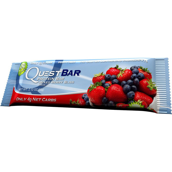QuestBar Mixed Berry Bliss (1 x 60 g)