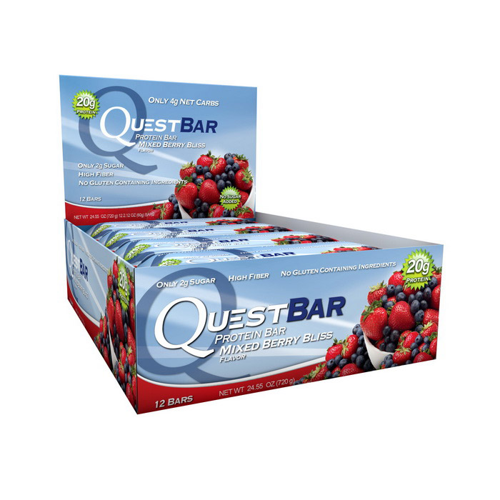 QuestBar Mixed Berry Bliss (12 x 60 g)