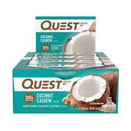 QuestBar Coconut Cashew (12 x 60 g)