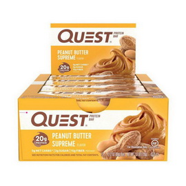QuestBar Peanut Butter Supreme (12 x 60 g)