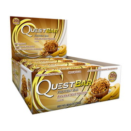 QuestBar Banana Nut Muffin (12 x 60 g)