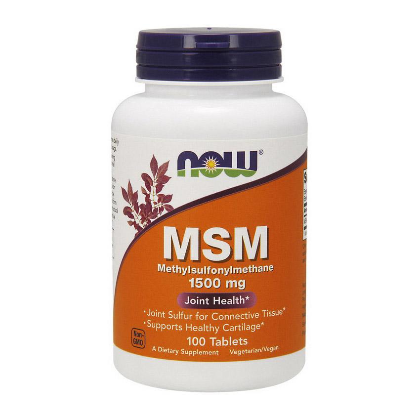 MSM 1500 mg (100 tabs)
