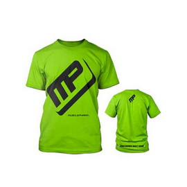 T-Shirt Muscle Pharm Green (S,M, L, XL, XXL)