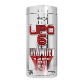 Lipo 6 Unlimited (136-147 g, 60 serv)