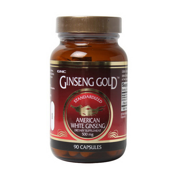Ginseng Gold American White Ginseng (90 caps)