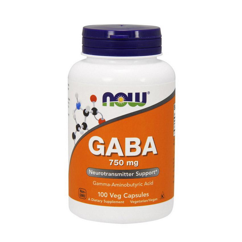 GABA 750 mg (100 caps)