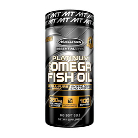 Platinum 100% Fish Oil (100 softgels)