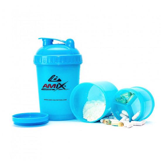 Amix Shaker Monster Bottle Blue (600 ml)
