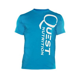Quest Blue Men's Shirt (XS, S, M, L, XL, XXL)