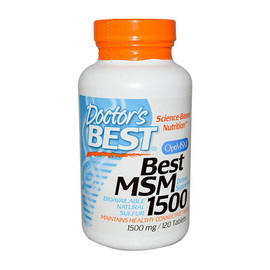 Best MSM 1500 (120 tabs)