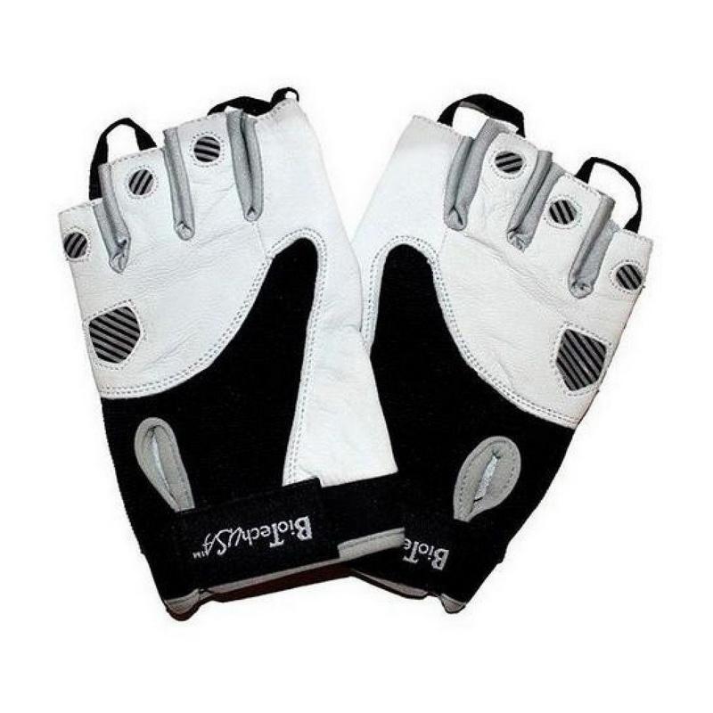 Gloves Texas (black-white) (S, M, L, XL, XXL)