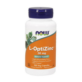 L-OptiZinc 30 mg (100 caps)