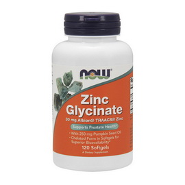 Zinc Glycinate (120 softgels)