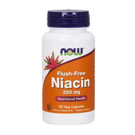 Flush-Free Niacin 250 mg (90 veg caps)