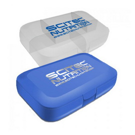Scitec Pill Box White