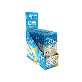 Quest Protein Vanilla Milkshake (12 x 28 g)