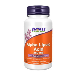Alpha Lipoic Acid 250 mg (60 veg caps)