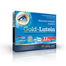 Gold-Lutein (30 caps)
