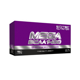 Mega BCAA 1400 (120 caps)