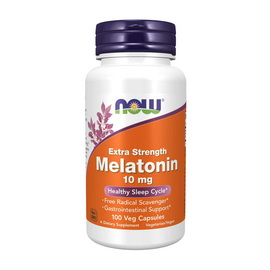 Melatonin 10 mg Extra Strength (100 veg caps)