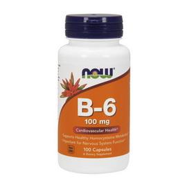 Vitamin B-6 100 mg (100 caps)