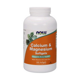 Calcium & Mag. with D and Zinc (240 softgels)