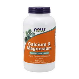 Calcium and Magnesium (250 tabs)