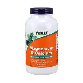 Magnesium and Calcium (250 tabs)
