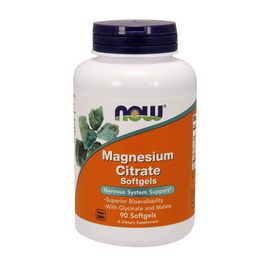 Magnesium Citrate (90 softgels)