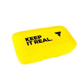 Pillbox Keep It Real Yellow