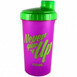Shaker Never Give Up Pink (700 ml)