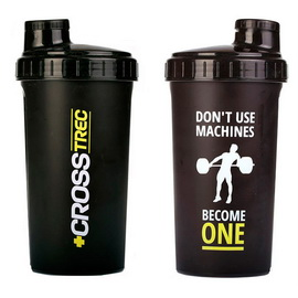 Shaker CrossTrec Black (700 ml)