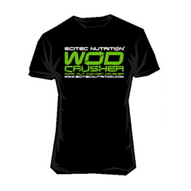 T-Shirt Wod Crusher Black (S, M, L, XL, XXL)