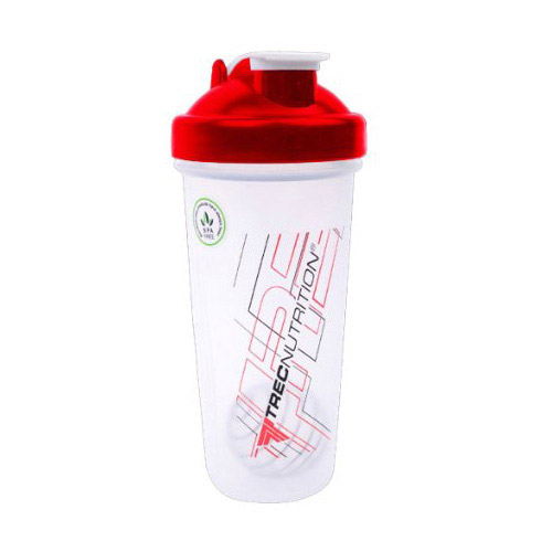 Shaker Classic With Metall Ball Red (600 ml)