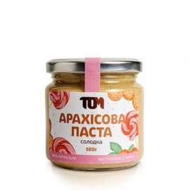 Арахисовое масло сладкое (180 г)