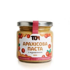 Арахисовое масло с клюквой (180 г)
