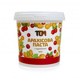 Арахисовое масло с клюквой (500 г)