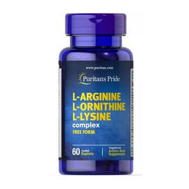 L-Arginine L-Ornithine L-Lysine (60 caplets)