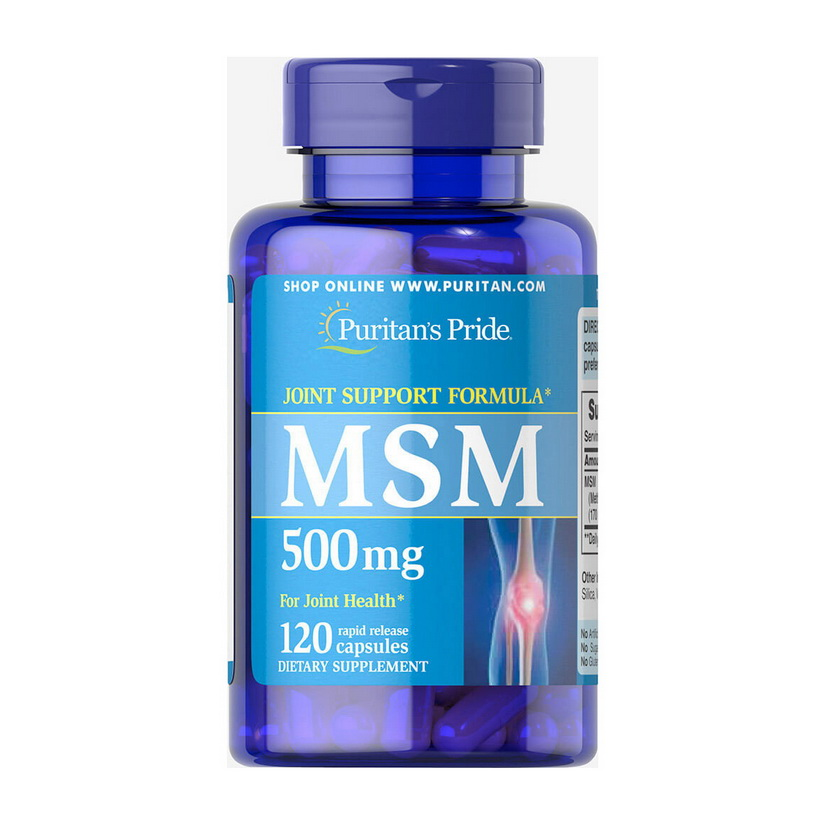 MSM 500 mg (120 caps)