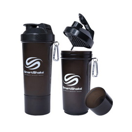 SmartShake Slim NEON Gunsmoke (500 ml)