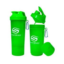 SmartShake Slim NEON Green (500 ml)