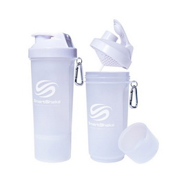 SmartShake Slim NEON Pure White (500 ml)