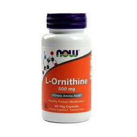 L-Ornithine 500 mg (60 caps)