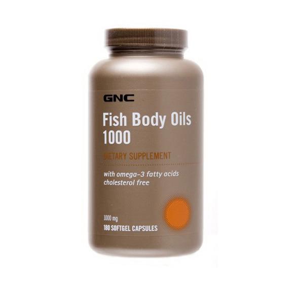 Fish Body Oils 1000 (180 softgels)